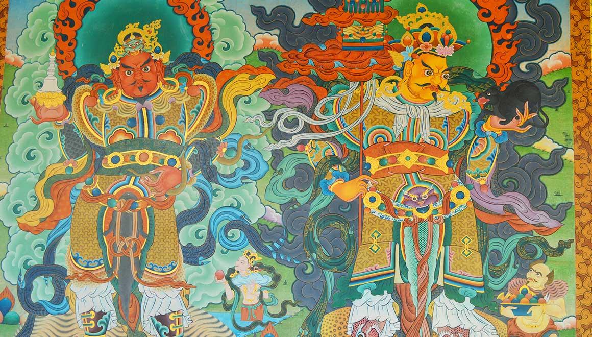 Tibetian artworks