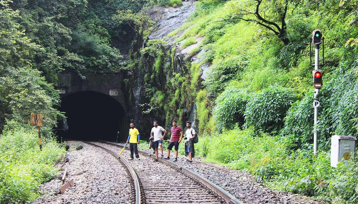 doodhsagar railway track