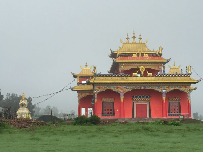 Buddhist Monastery at Mainpat